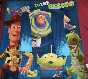 Northwest Disney/Pixar Toy Story Kids Comfy Throw Blanket With Sleeves 48 x 48