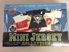2007-08 Upper Deck Mini Jersey Hockey Factory Sealed Hobby Box