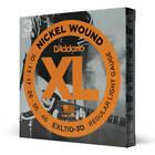 D'Addario EXL110-3D Nickel Wound Electric Guitar Strings - Pack of 3
