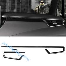Carbon Fiber Dashboard Decor Strip Trim For Toyota Corolla Hatchback 2019 2020