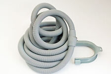 WASHING MACHINE DISHWASHER OUTLET DRAIN HOSE WASTE PIPE 4M EXTENSION 22x22mm