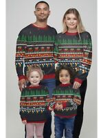Matching Family Christmas Novelty Jumper Mens Womens Boys Girls Xmas Sweater