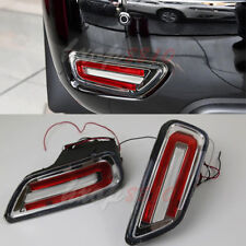 LED Rear Bumper Fog Lights For 2010-17 Nissan Patrol Lamp Replacement Kits Pair