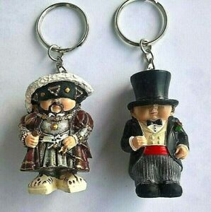 Hubby + Henry 2 Piece Mini Me - Key Chain Original - English Sammlerfig