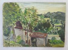 Bild Antike Französisch - Signiert G.Thevenet Malerei Öl Landschaft France BM38