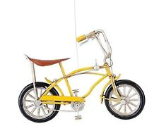 """GALLERIE II METAL CRAFT 6"""" YELLOW STING RAY BIKE BICYCLE CHRISTMAS ORNAMENT"""