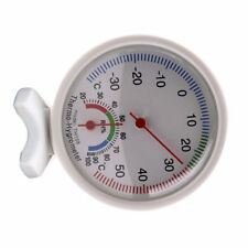 -35~55°C Temperature Meter Analog Humidity Gauge Hygrometer Thermometer #RY