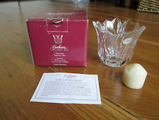 Gorham Crystal Glass Tulip Votice Style C907 Made In Germany