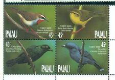OISEAUX DE LA FORET - FOREST  BIRDS PALAU 1990