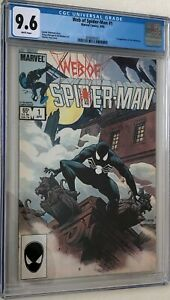 Web of Spiderman #1 9.6 White Pages NM+ Brand new Case