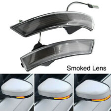 Dynamic Turn Signal Side Mirror Sequential Light For Ford Focus 3 MK3 3.5 11-18