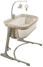 Arm's Reach Versatile Adjustable Inf Baby Co-Sleeper Bedside Bassinet Bliss Gold