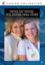 NEVER SAY NEVER: THE DEIDRE HALL STORY Region Free DVD - Sealed