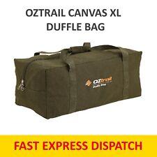 OZTRAIL CANVAS X LARGE DUFFLE BAG Luggage X- LGE