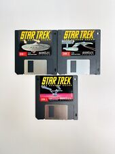 1992 Berkeley Systems Macintosh Star Trek Screen Saver Diskettes
