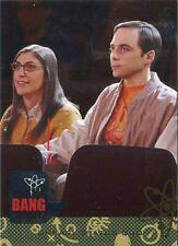 Big Bang Theory Seasons 6 & 7 Silver Parallel Base Card #05 Uneasy Status Quo