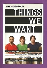 PETER DINKLAGE of GAME OF THRONES and PAUL DANO off-Broadway in THINGS WE WANT