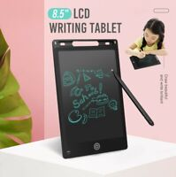 8.5'' Electronic LCD Writing Drawing Tablet Pad eWriter Notepad Black Board