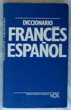DICCIONARIO FRANCES ESPAÑOL - VOX 1993 - 205 PÁGINAS - VER DESCRIPCIÓN