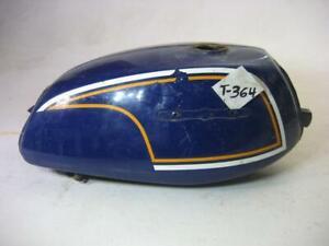 1972 Honda CL175 CL 175 Scrambler Blue Fuel Gas Tank Used T-364