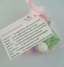 Hangover Survival Kit - Hen Night party bride to be gift 18th 21st 40th birthday