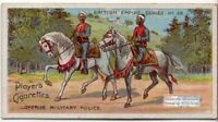 Cyprus Island British Colonial Mounted Military Police 100+ Y/O Ad Trade Card