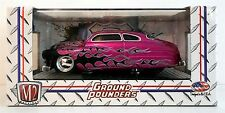 "M2 Ground Pounders 1949 Mercury Custom Coupe Purple w/ Flames Release #08 ""NEW"""