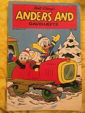 Walt Disney's Anders And Gavehæfte nr. 21 Donald Duck 1972 Retro Vintage