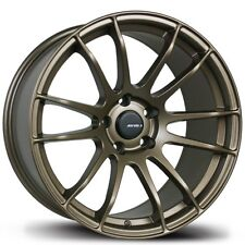 Avid1 AV20 17X8 Rims 5x100 +35 Bronze Wheels (Set of 4)