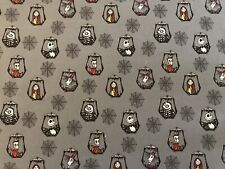 Disney Nightmare Before Christmas On Gray FQ Fabric For Making Masks, Crafts