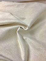 LAURA ASHLY OFF WHITHE CHENILLE UPHOLSTERY FABRIC 1 METRES