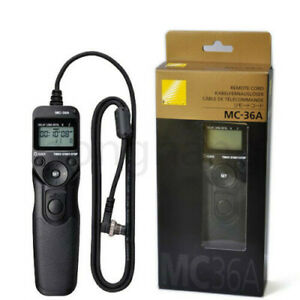 FOR Nikon MC-36A Multi-Function Remote Cord Timer Remote Shutter Release