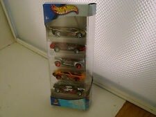 2002 HOT WHEELS 5 CAR CYBORG ASSAULT GIFT PACK SUPER PAQUETE COFFRET NEW MIB