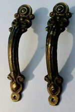 PR Antique Hardware Brass Cabinet Knob Handle Vanity Cabinet Pull French Country
