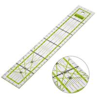 Quilting Sewing Patchwork Ruler Cutting Double-color Ruler Tailor Craft DIY Tool