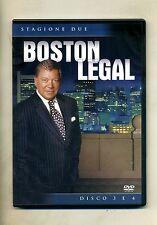 BOSTON LEGAL - STAGIONE 2 - DISCO 3 E 4 # 20th Century Fox Ent. DVD-Video 2005