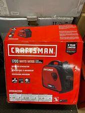 NEW Craftsman 1700w Gas Inverter Generator CMXGIAC2200 2200 Starting Watts 80cc