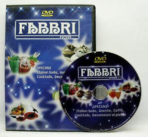 FABBRI 1905 SODA GRANITE CAFFE COCKTAILS DECORAZIONI DVD EDIZ ITA USED ML3 72451