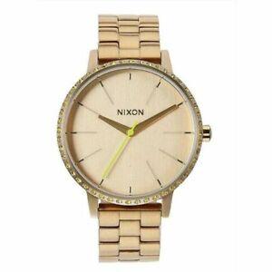 NIXON LADIES KENSINGTON ( ALL GOLD / NEON YELLOW ) (H)