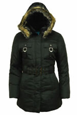 Abbigliamento giacche a vento / parka neri per bambine dai 2 ai 16 anni