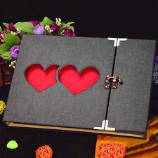 New Love Photo Album Hollow Cover DIY Craft Gift Wedding Photo Album UK