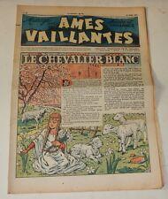 AMES VAILLANTES  Sourire et Vaillance - Numéro 11 du 16 mars 1947