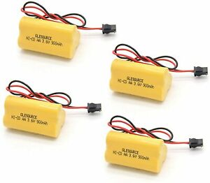 3.6V 900mAh Emergency/ Exit Light Battery Compatible for Lithonia ELB B001