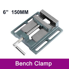 """6"""" 150mm Heavy Duty Drill Press Vice Bench Clamp Woodwork Vise Drilling Machine"""