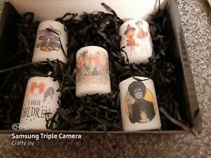 Hocus pocus votive candle set