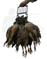 Game Carrier Pigeon Partridge Shooting Bird Rack Holder Double Easy Game