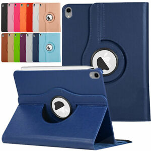 For iPad Pro 11 12.9 2018 3rd Gen Flip Leather Rotating Stand Smart Case Cover