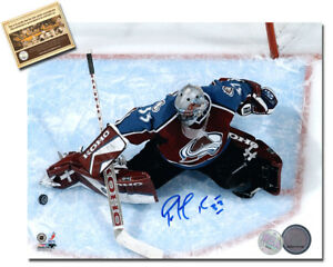 Patrick Roy Signed 8x10 Hockey Photo - WCA Hologram Certified COA
