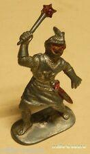 Ancienne Figurine W. GERMANY : CHEVALIER MOYEN AGE avec MASSE D'ARME - Modèle 7
