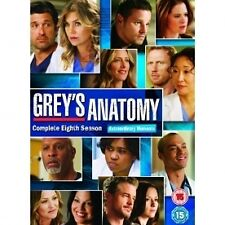 Grey's Anatomy Complete Series 8 DVD Box Set Season New Sealed UK 8th Greys